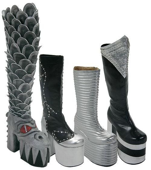 KISS boots  ( I put this in decor, because I would use these as decoration )