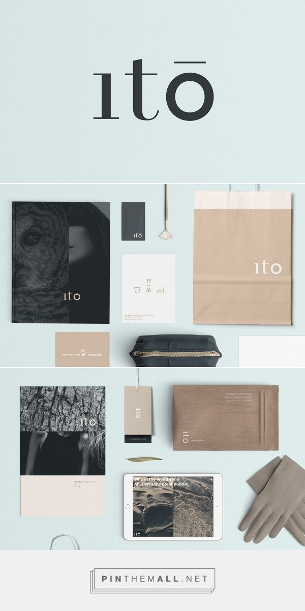 ito on Behance... - a grouped images picture - Pin Them All