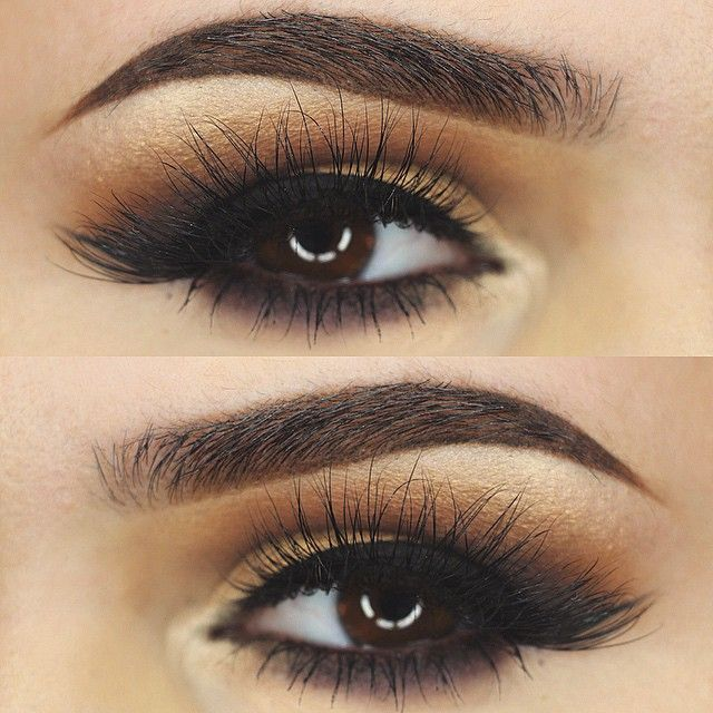 THE LOOK Alluring and glamorous. These false eyelashes start off with flirty criss-cross strands and finish with long luscious locks, giving you a sexy winged out effect at the corner of your eyes. Vo