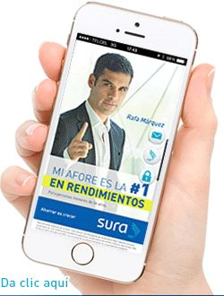 Nueva aplicación SURA CLIENTES, para tu móvil...!!!