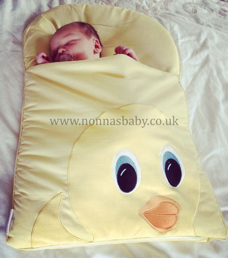 "Oscar Loves His Duck Mat!!!  Little Oscar was born on 17th June, and the gorgeous little man seems to be enjoying his nap mat. Mum Collette told us that ""He loves it"".  Nonna is delighted! :-)"