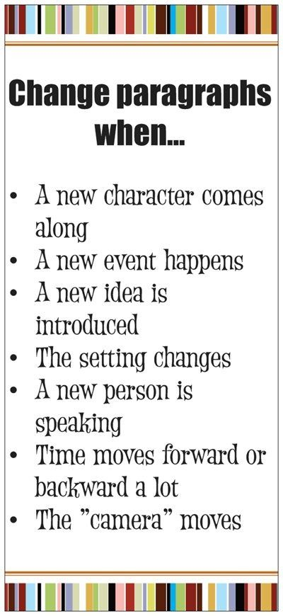 Paragraph Change