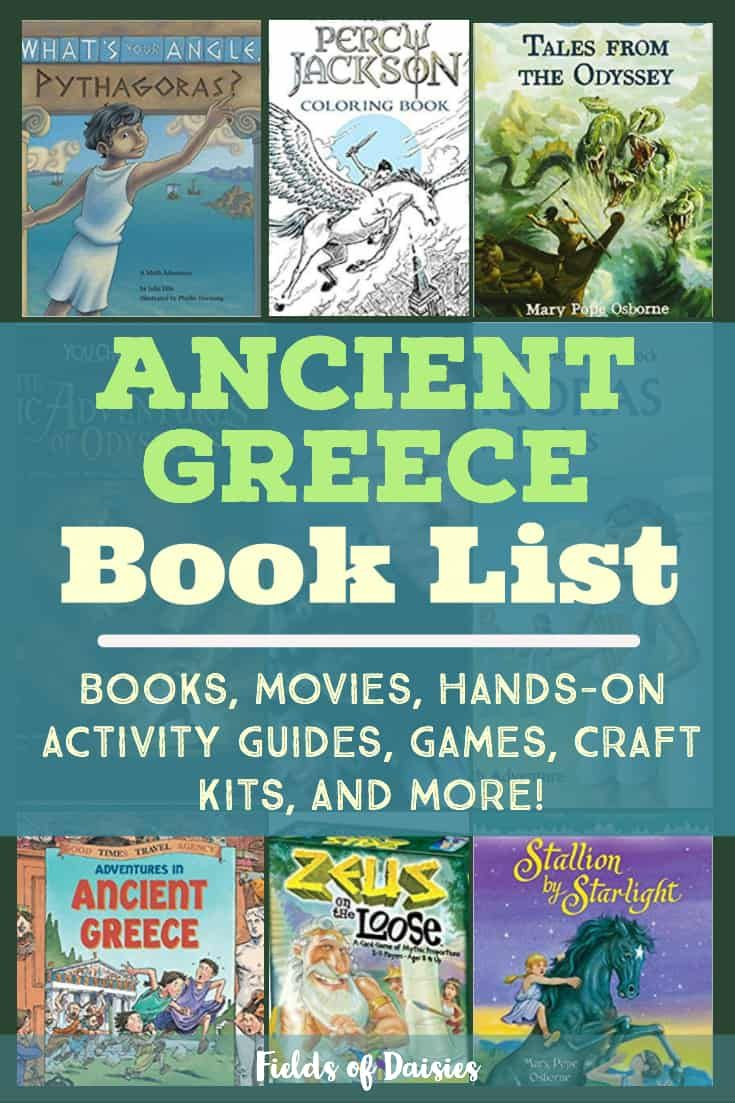 Ancient greece book list free history curriculum