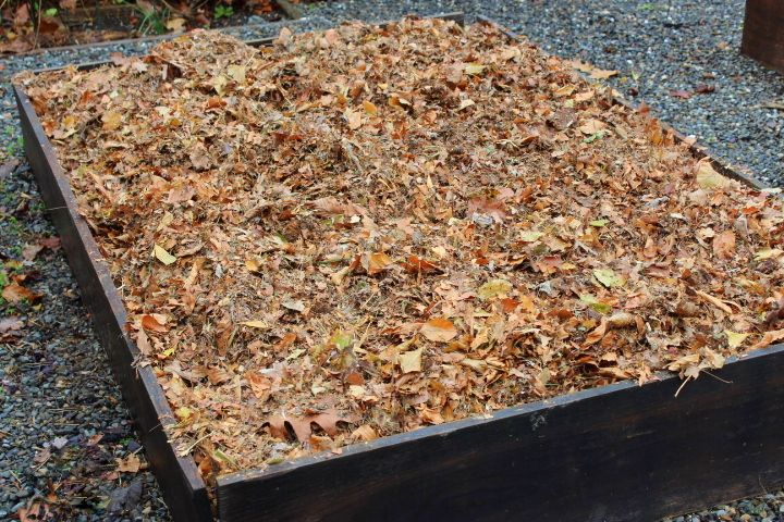 How i prepare my raised beds for winter a garden for the - How to prepare garden for winter ...