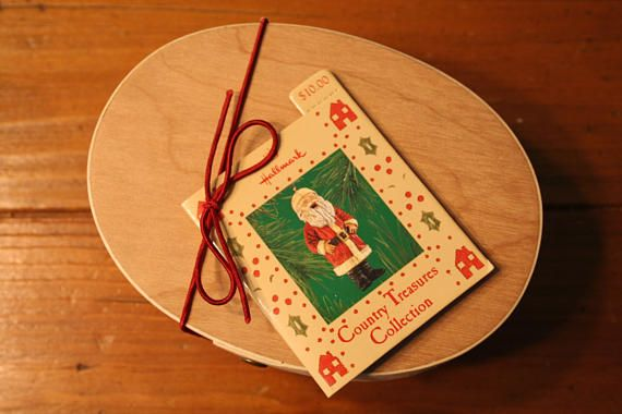 Santa Nutcracker Hallmark Keepsake Ornament in Wood Box