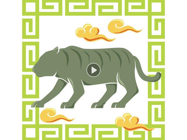 Courageuse, irrésistible, la personne née sous le signe du Tigre dans l'horoscope chinois peut se croire invincible. Les explications de notre astrologue...