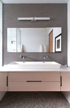 Large Long Vessel Sink Design Ideas, Pictures, Remodel, and Decor - page 6