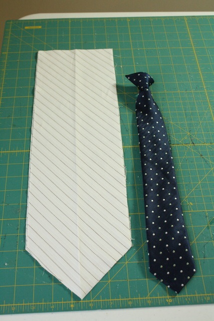 Boys' clip-on tie tutorial - I should make one for Adam so i don't have to tie his ties anymore! lol