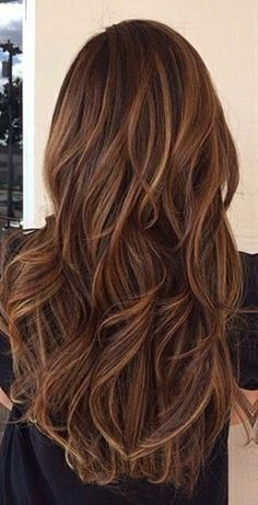 DARK CHOCOLATE #HAIR COLOR WITH SUBTLE HIGHLIGHTS