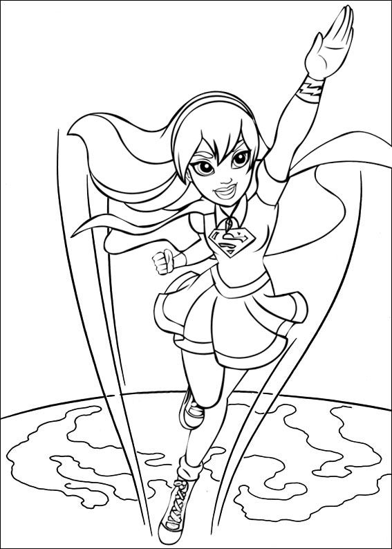 Pin By Cs Pengadaan On Supergirl Coloring Pages In 2020 Earth Coloring Pages Coloring Pages Online Coloring Pages