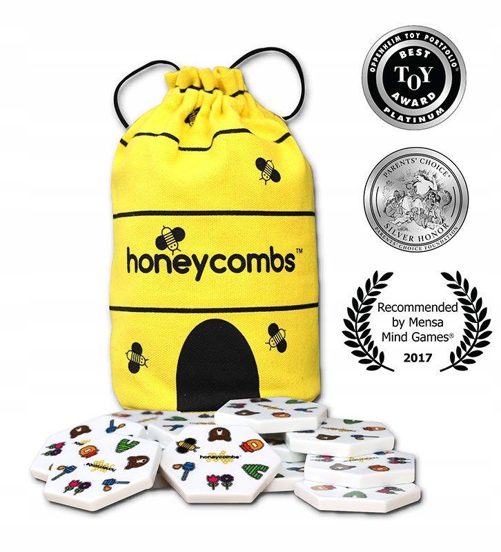 Gra Rodzinna Honeycombs Plastry Miodu Piatnik 7903594735 Oficjalne Archiwum Allegro Honeycomb Mind Games Pics