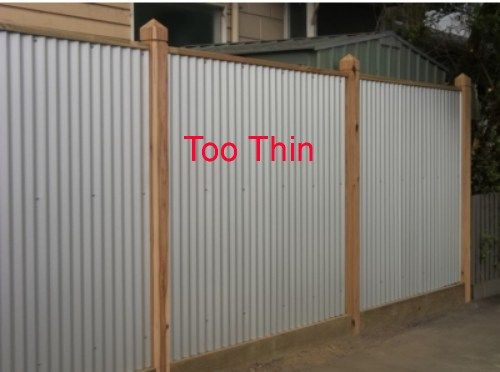 86 Best Metal And Wood Fencing Images On Pinterest Close