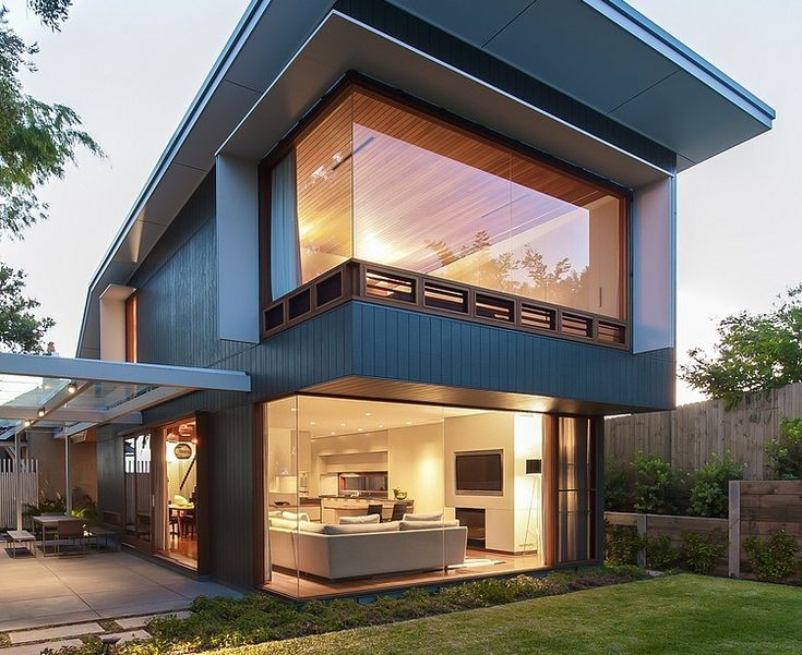 #architecture : Coogee House in Sydney Featuring a Lovely Glass-Roofed Pergola