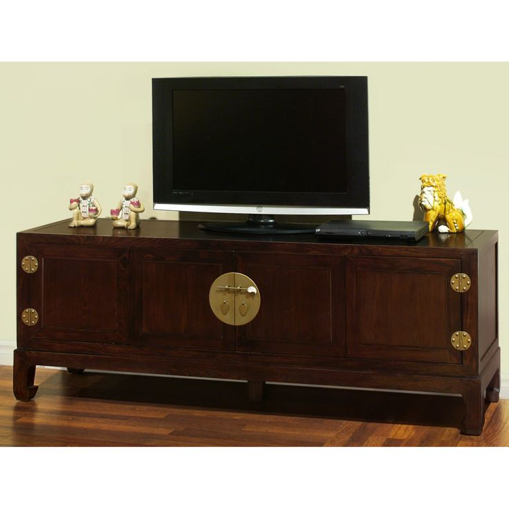 Elmwood Kang Media Cabinet. Sleek In Shape And Spare Of Ornate Decoration,  Our Elmwood