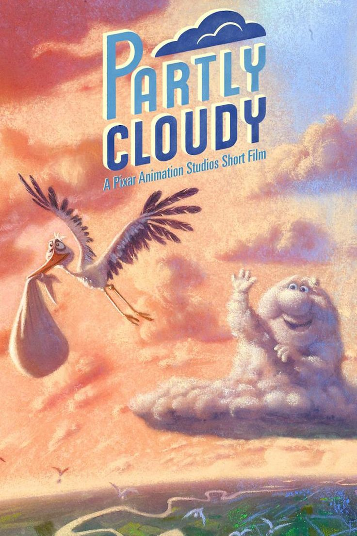 Partly Cloudy is an amusing animation that was written and directed by Peter Sohn in 2009 for Pixar Animation Studios, that tells the story of a cloud that makes babies of all species, the dutiful ...