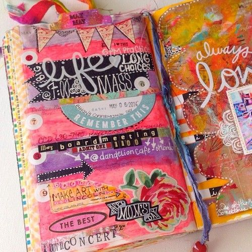 Planner Pages - What a fun idea for a planner.