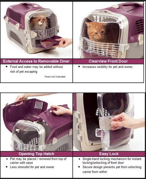 Maine coon cat carrier
