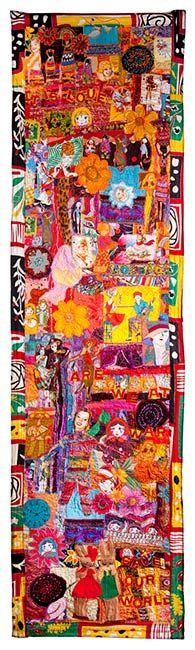 Wall piece by Lauren Shanley