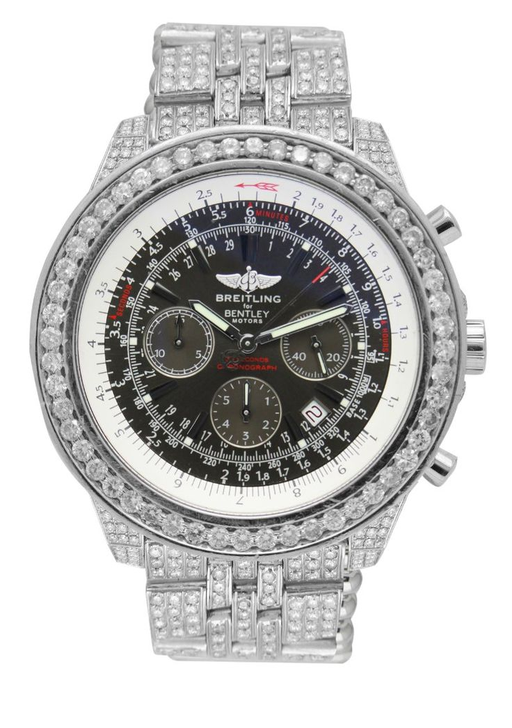 diamond breitling watches breitling mens watch bentley. Black Bedroom Furniture Sets. Home Design Ideas