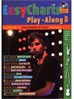 DIVERSE - EASY CHART HITS PLAY-ALONG 8 - € 19,50 Melodie-instrument populair, Diverse melodie-instrumenten diverse stemmingen, SCHOTT MF3608