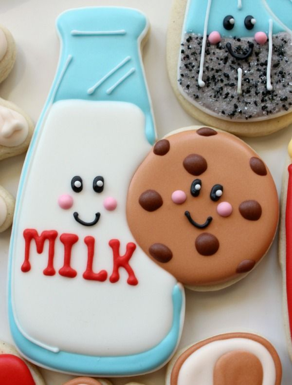 Cookies and Milk Cookies (Using a baseball and bat cutter?)