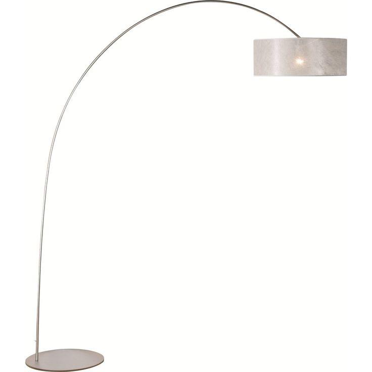 booglamp strauss met dimmer - Moderne vloerlamp - Vloerlampen