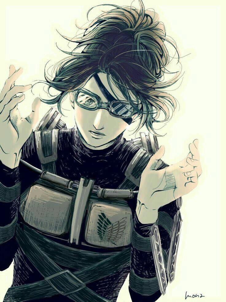 Hanji || Attack on titan || Shingeki no Kyojin #otaku # ...