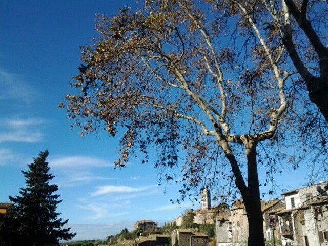 Veduta del Colle del Duomo da Pianoscarano