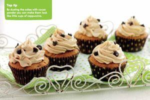 Macmillan Coffee Morning Recipes - Cappucino Cupcakes