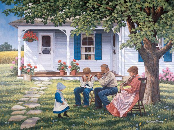 john sloan art | JohnSloaneArt.com - John Sloane - Gallery - Mothers Day