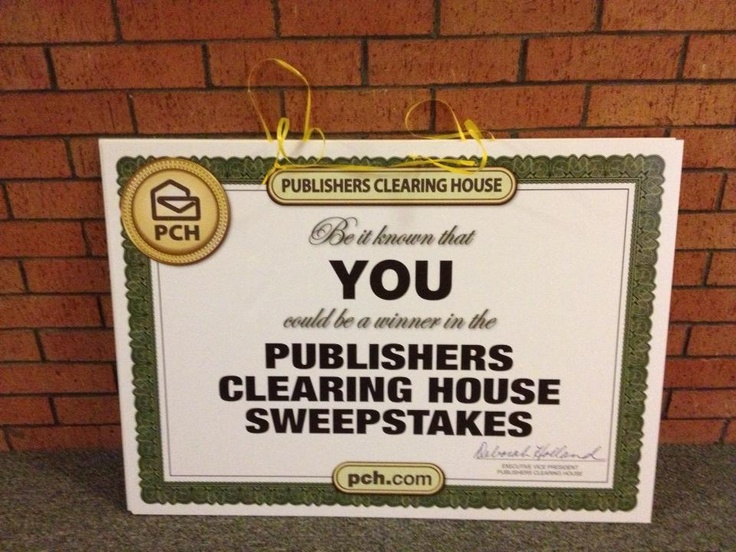Publishers Clearing House Billing Backyard Discovery
