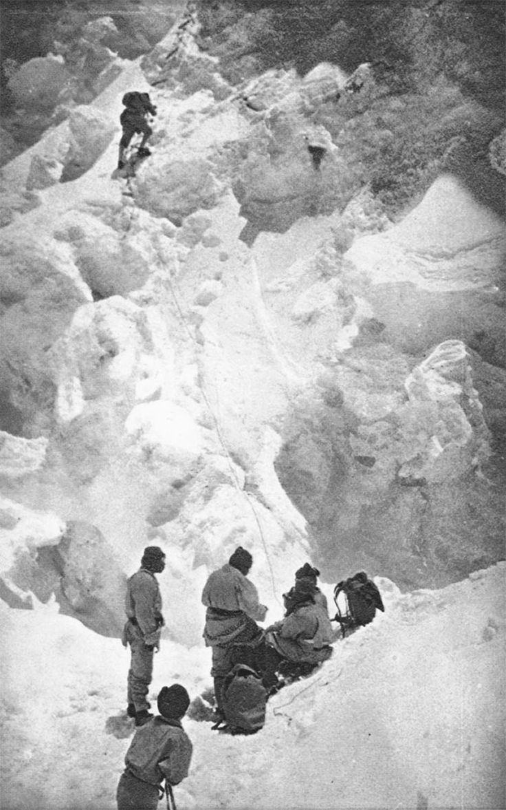 Everest in 1924
