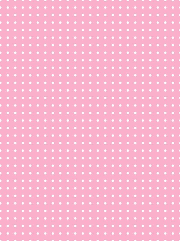Girly Polka Dots Pink Pattern Background Polka Dot