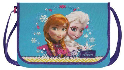 Disney Frozen Schoudertas / Schooltas - Anna & Elsa (Blauw) #disney #frozen #schoudertas #schooltas #annaenelsa