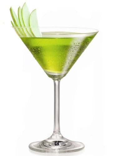 Shamrock Shaker 1½ oz. Familia Camarena Reposado Tequila ½ oz. sour apple liqueur ¼ oz. agave nectar 2 oz. lime juice   Combine all ingredients in a shaker filled with ice. Shake vigorously, strain into a martini glass, and garnish with thinly-sliced green apples