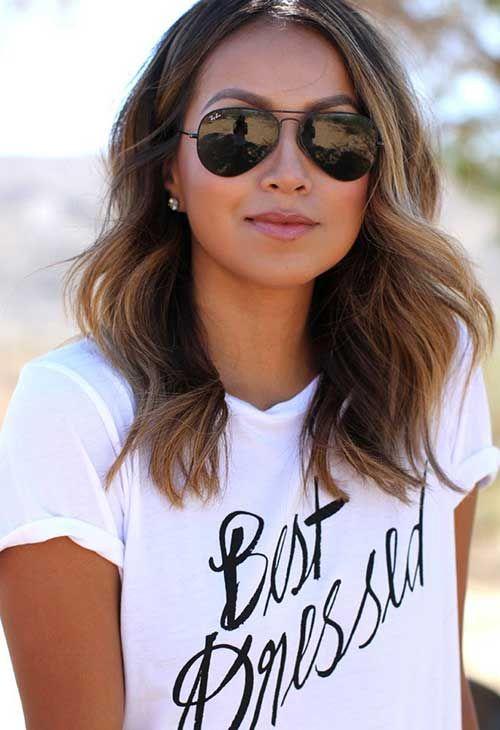 Superb 1000 Ideas About Medium Long Haircuts On Pinterest Medium Long Short Hairstyles For Black Women Fulllsitofus