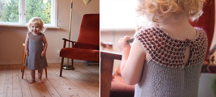 Impress dress - free knitting pattern - Pickles