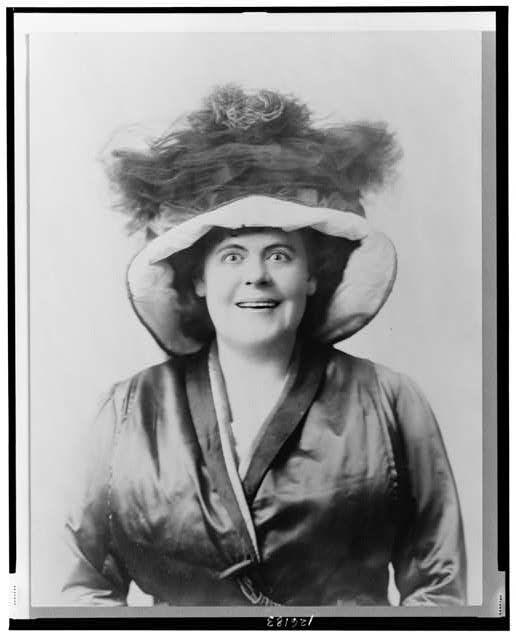 vintage everyday: Marie Dressler Portraits, c.1909
