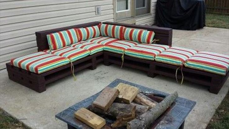 DIY Pallet Wood Couch Plans | Recycled Things