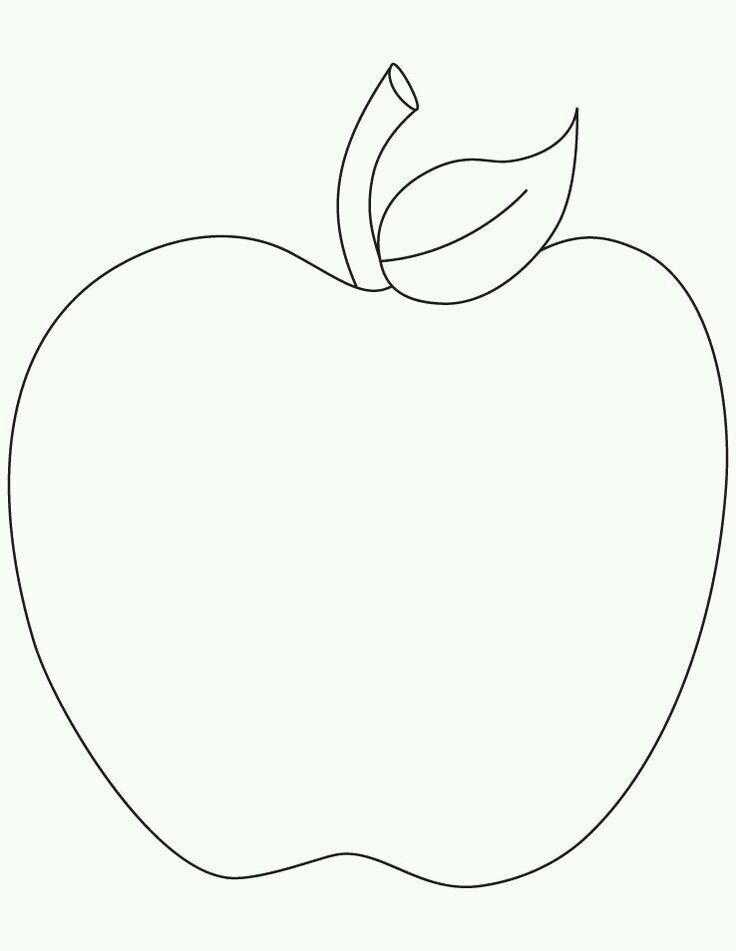 Sablona jablko