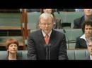 Prime Minister Kevin Rudd's sorry speech.