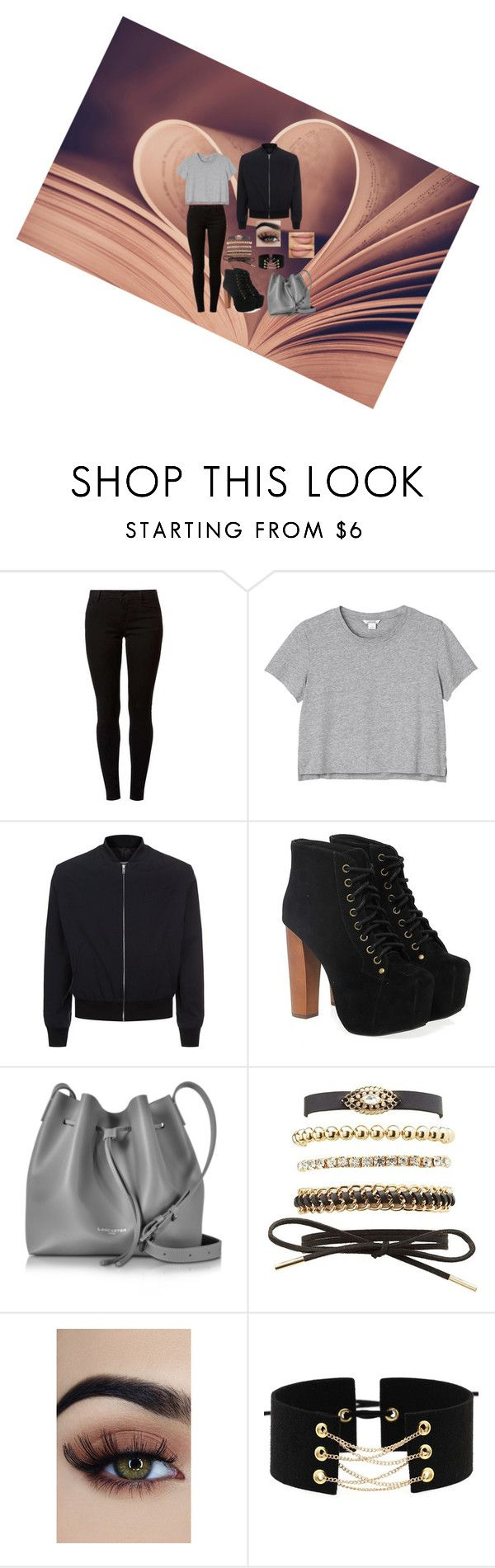 """SPOTKANIE"" by laska800 on Polyvore featuring Dorothy Perkins, Monki, Maison Margiela, Jeffrey Campbell, Lancaster and Charlotte Russe"