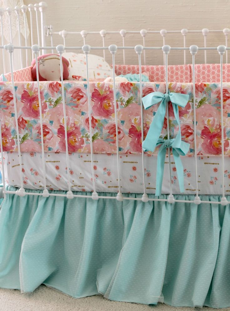 Aqua Baby Bedding Sets