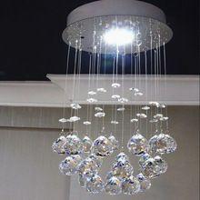 pequeo cristal de la lmpara celling corredor lmpara de mensajero luz morden llev la luz de