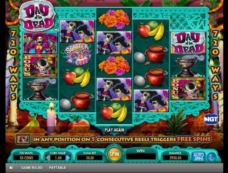 Spielautomat Day of the dead - Das Day of the dead Spielautomat ist wahrscheinlich eines meiner Lieblings Slot Games. Es hat nicht nur eine unglaublich kreative Grafik, sondern auch ein einzigartiges Motiv. - http://www.spielautomaten-kostenlos.com/spiele/spielautomat-day-of-the-dead #Spielautomaten #Jackpot #Dayofthedead