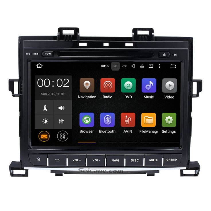 Seicane 9 inch Android 7.1.1 GPS navigation system for 2007-2014 TOYOTA Alphard Vellfire 350Z G with DVD player Bluetooth Radio Mirror link