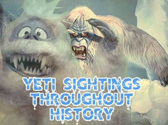 Beat the heat with some real accounts of our frigid friend the #yeti or, as you may know him, the #abominablesnowman
