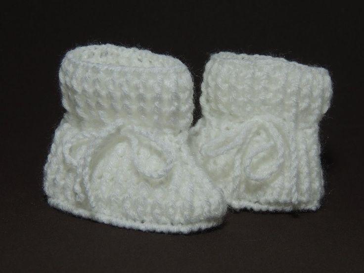 Sapatinho de crochê - Sapatinho de bebê Tradicional - Parte 1/3