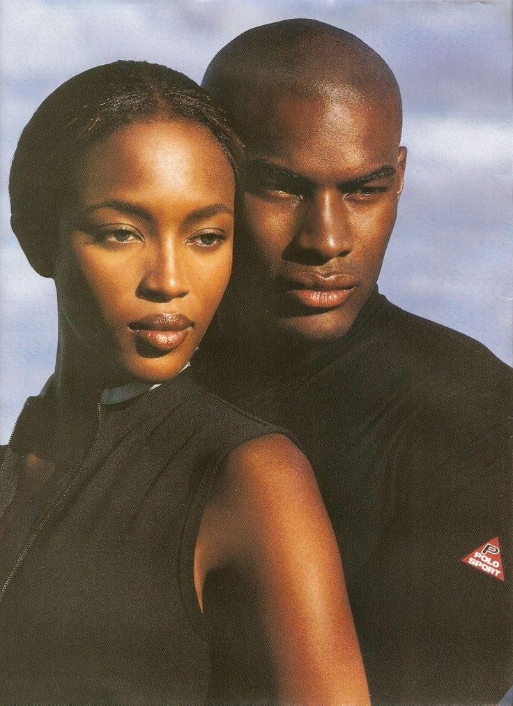 Naomi Campbell & Tyson Beckford - Polo Sport Ralph Lauren, late 90's