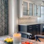 textured glass backsplash kitchen transitional with caesarstone countertops san francisco tile